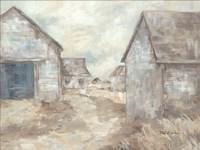 Barn Path Fine-Art Print