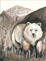 Find My Soul Bear Fine-Art Print