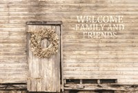 Welcome Family and Friends Fine-Art Print
