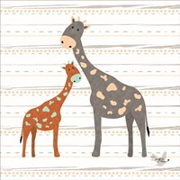 Zoo Animals Giraffes Fine-Art Print