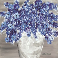 Blooming Blues Fine-Art Print