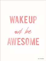 Be Awesome Fine-Art Print