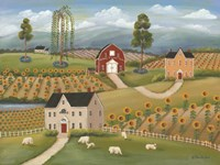 Valley Flower Farms Fine-Art Print