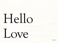 Hello Love Fine-Art Print