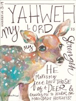 The Lord is My Strength Fine-Art Print