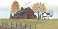 Autumn Farmstead Fine-Art Print