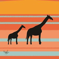 Safari Sunset 2 Fine-Art Print