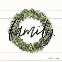 Family Boxwood Wreath Fine-Art Print