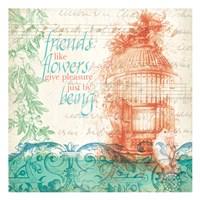 Friends Like Flowers Fine-Art Print