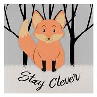 Clever Fox Fine-Art Print