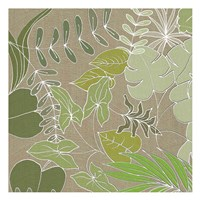Linen Leaves 1 Fine-Art Print