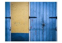 Blue Entrance Fine-Art Print