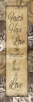 Faith Hope Love Fine-Art Print