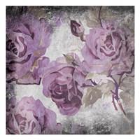Purple Grey Flowers Fine-Art Print