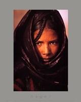 luc Manaud - Young Tuareg Woman, Niger Fine-Art Print