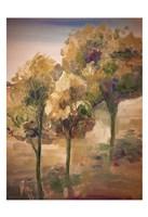 Golden Pageant Trees Fine-Art Print