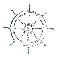 Simple Sketched Wheel Fine-Art Print