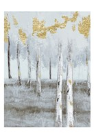 Birch Metallic Gray Day 2 Fine-Art Print