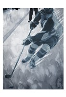 Hockey Move Framed Print