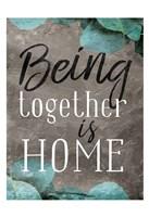 Being Together Fine-Art Print