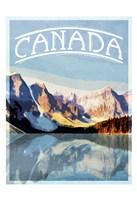 Canada Mountains Fine-Art Print