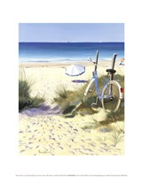Blue Bicycle Fine-Art Print