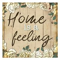 Home Is Feeling Fine-Art Print