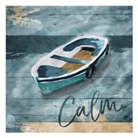 Calm Boat Fine-Art Print