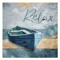 Relax Boat Fine-Art Print