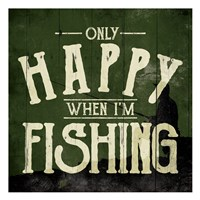 Happy Fishing Fine-Art Print