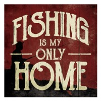 Fishing Home Fine-Art Print