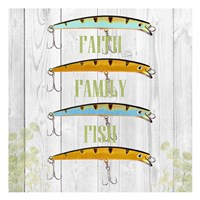 Faith Family Fish Fine-Art Print