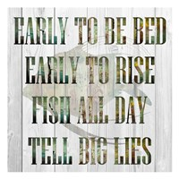 Fish All Day Fine-Art Print