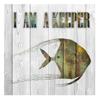 I Am A Keeper Fine-Art Print