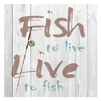 Fish to Live Fine-Art Print