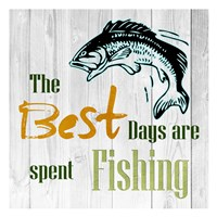 Fishing Days Fine-Art Print