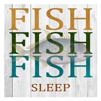 Fish Fish Fish Fine-Art Print