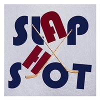 Hockey Shot Fine-Art Print