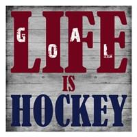 Hockey Life 2 Framed Print