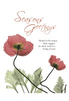 Holiday Poppies 1 Fine-Art Print