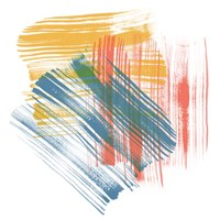 Color Swipe II Fine-Art Print