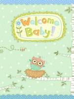Baby Owl I Fine-Art Print