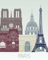 Paris Skyline Fine-Art Print