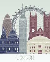 London Skyline Fine-Art Print
