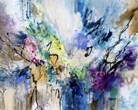 Rainbow Blue V Fine-Art Print