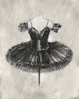 Black Ballet Dress II Fine-Art Print