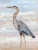 Beach Heron II Fine-Art Print