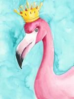 Flamingo Queen I Fine-Art Print