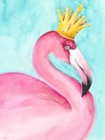 Flamingo Queen II Fine-Art Print