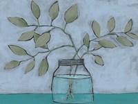 Jar of Stems II Fine-Art Print